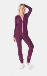 OnePiece NORTH SLIM JUMPSUIT BURGUNDY – casual weekend style