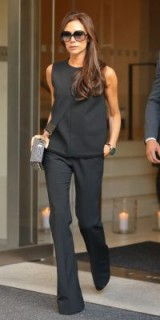 effortless style from Mrs Beckham