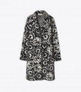 TORY BURCH ROSALIE COAT ~ floral coats ~ chic outerwear