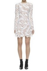 Self Portrait 3D Floral Guipure-Lace Mini Dress, cheap self portrait dress, lace dress