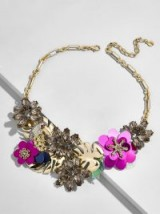 BAUBLEBAR QUEEN OF BLOOMS STATEMENT NECKLACE | floral necklaces