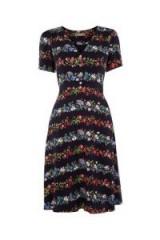OASIS STRIPE DITSY SKATER ~ floral vintage style dresses