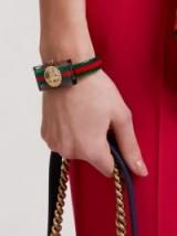 GUCCI Web Plexiglas watch ~ clear watches