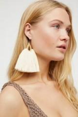 Caralarga Gallos Earring. STATEMENT TASSEL EARRINGS