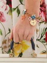 DOLCE & GABBANA Charm-embellished bracelet ~ beautiful Italian designer jewellery
