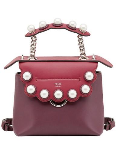 9eb0e71278 FENDI mini Back To School backpack – luxe backpacks ...