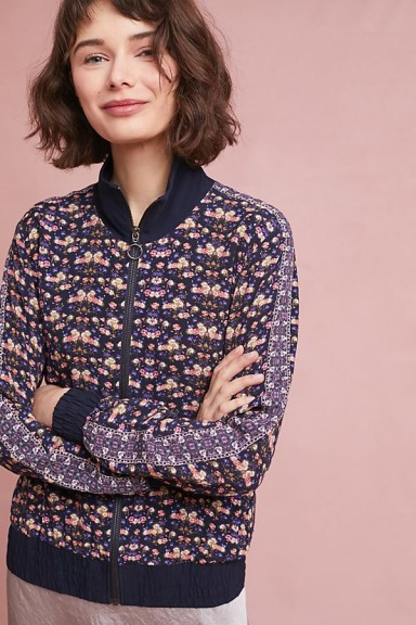 Kachel Garden Bomber Jacket | casual floral jackets