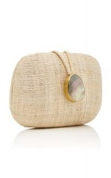 KAYU Adeline Straw Clutch. NATURAL EVENING BAGS