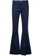 MAGGIE MARILYN She's Still A Dreamer navy flared trousers