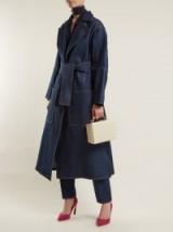 MAISON RABIH KAYROUZ Notch-lapel denim coat ~ casual chic