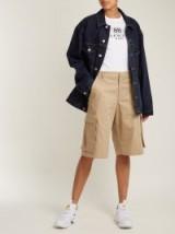 MARTINE ROSE Oversized denim jacket ~ casual style