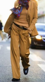 Stylish looks / camel chic