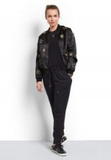 hush Reversible Star Bomber ~ stylish casual jackets