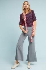 Saturday/Sunday Sloane Flared Trousers | grey flares
