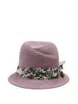 MAISON MICHEL Virginie straw hat – lavender hats