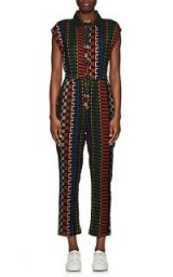 ACE & JIG Heights Geometric-Pattern Cotton Jumpsuit – multicoloured geo prints