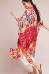 ANTHROPOLOGIE Alani Kimono | floral kimonos