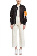 Alpha Industries for Opening Ceremony L-2B MESH BOMBER JACKET Black/Orange