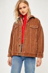 BDG Western Brown Corduroy Jacket / cord jackets