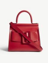 BOYY Karl red leather shoulder bag in Toreador