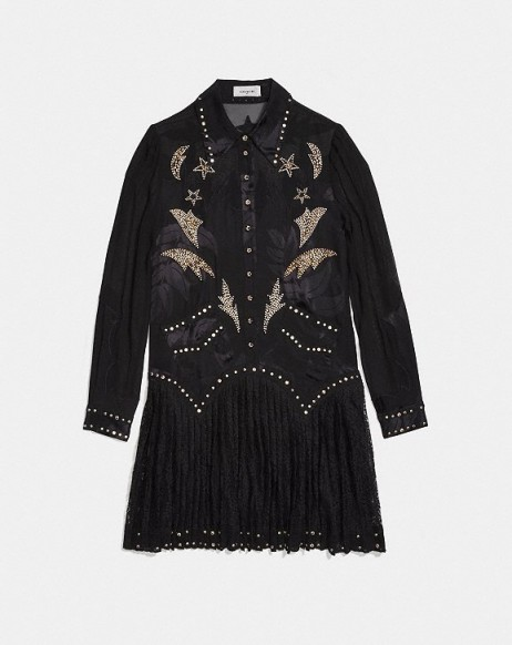 COACH 1941 Crystal Embellished Western Dress