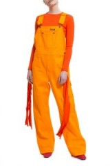 Dickies 1922 x Opening Ceremony PAINTER'S RIB OVERALLS | orange dungarees