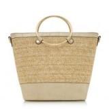 DUNE Diggyy Gold Circle Handle Shopper Bag | stylish shoppers