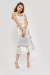 Topshop Ditsy Print Midi Dress – floral spring dresses