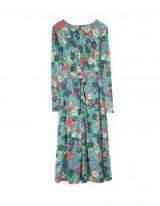 STRADIVARIUS Draped knit dress | floral spring dresses