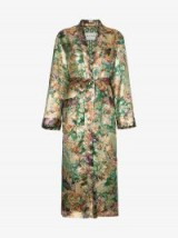 Etro Silk Jacquard Duster Coat ~ floral coats