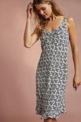 Floreat Ruffled Slip | cut out back cami dresses