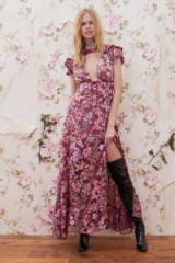 $198.00 FOR LOVE & LEMONS FLORA MAXI DRESS