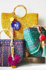 Vineet Bahl Goldilocks Tote | yellow woven bags