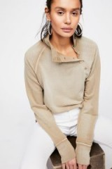 Free People I Can Be Your Pullover | high neck tops