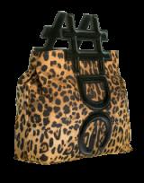 DOLCE & GABBANA Insta Leopard Bag   luxe top handle bags