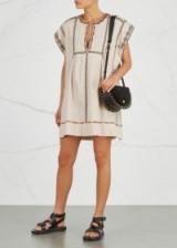 ISABEL MARANT ÉTOILE Belissa embroidered cotton mini dress ~ boho chic
