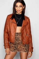 boohoo Joy Biker Jacket – moto jackets