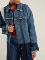 ACNE STUDIOS Kanani indigo panel denim jacket