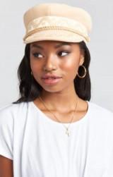 LACK OF COLOR ~ RIVIERA CAP in BLONDE / sailor caps / baker boy hats
