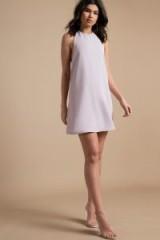 TOBI REVELRY LAVENDER SHIFT DRESS ~ lilac sleeveless dresses