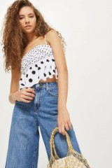 Topshop Mix Spot Print Camisole Top | cute spotty tops