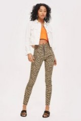 MOTO Leopard Print Joni Jeans – glamorous animal prints