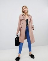 New Look Structured Mac Trench Coat. NUDE MACS