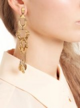 CHLOÉ Quinn chain-linked chandelier earrings