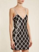 ASHISH Sequin-embellished silk mini dress – shimmering slip dresses