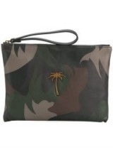 TOMAS MAIER camo palm pouch / camouflage printed pouches / clutch bags