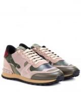 VALENTINO Valentino Garavani Rockrunner camouflage sneakers / camo print trainers