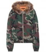 YEEZY Camouflage bomber jacket / camo print jackets