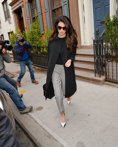 Amal Clooney work style