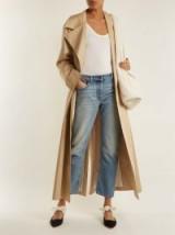THE ROW Ashland mid-rise straight-leg jeans ~ light-blue cropped denim